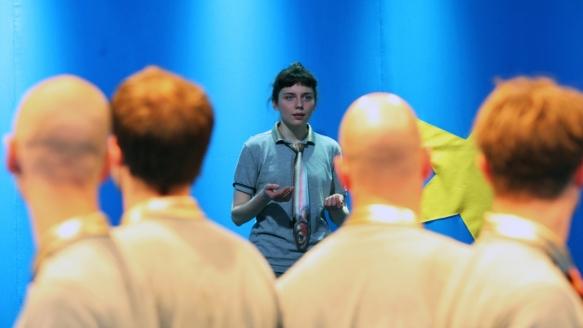 Böse Kinder/ Theater an der Parkaue/ Nina Wyss/ Foto: Christian Brachwitz