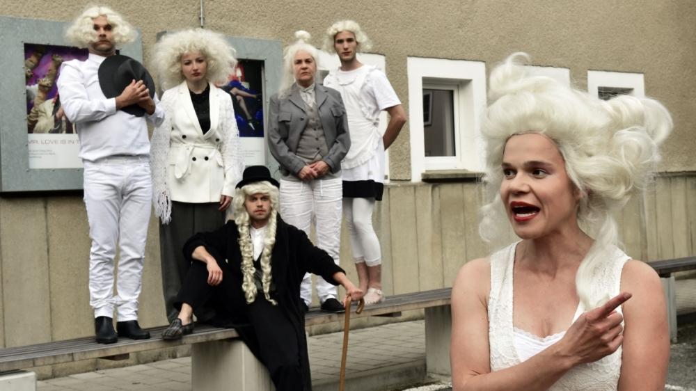 Toleranzig von Bonn Park, Theater an der Parkaue, Foto. Christian Brachwitz