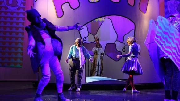 Der kleine Ritter Trenk, Theater an der Parkaue, Foto: Christian Brachwitz