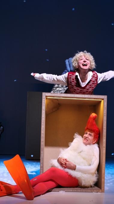 Die Weihnachtsgans Auguste/ Theater an der Parkaue/ Foto: Christian Brachwitz