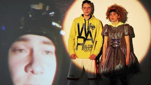Theater an der Parkaue/ Video: Robert Zimmermann, Tim Riedel, Nina Wyss, Foto: Christian Brachwitz